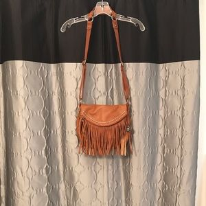 The sak fringe crossbody bag